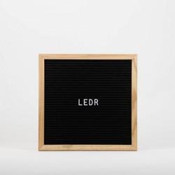 Доска для создания надписей letter board Black 30*30