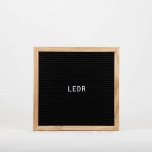 Дошка для створення надписів  letter board Black 30*30