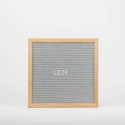Доска для создания надписей letter board Grey 30*30