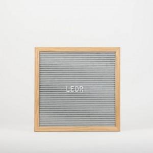 Дошка для створення надписів letter board Grey 30*30