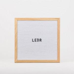 Дошка для створення надписів letter board White 30*30