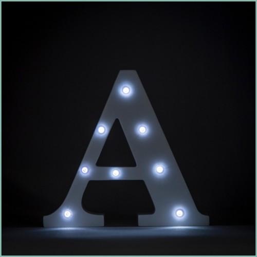 Светящаяся буква A