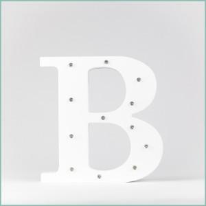 Светящаяся буква B