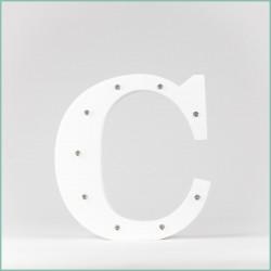 Светящаяся буква C