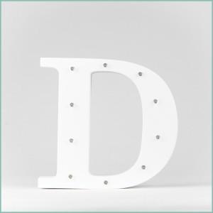 Світлодіодна літера D