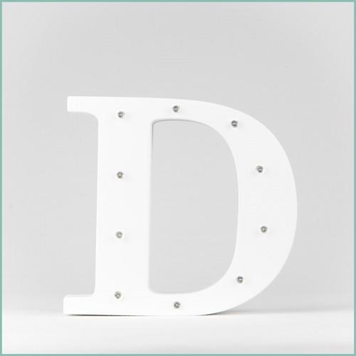Светящаяся буква D