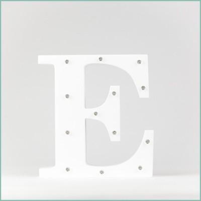Светящаяся буква E