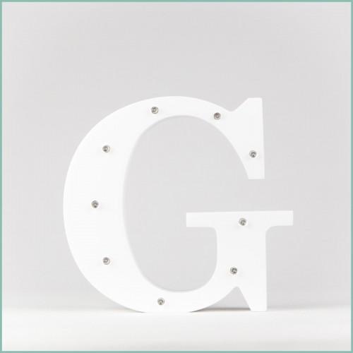 Светящаяся буква G