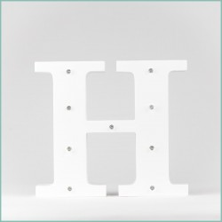 Светящаяся буква H