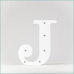 Светящаяся буква J