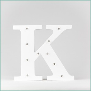 Світлодіодна літера K