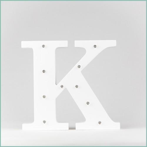 Светящаяся буква K