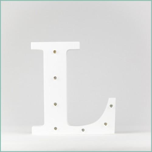 Светящаяся буква L