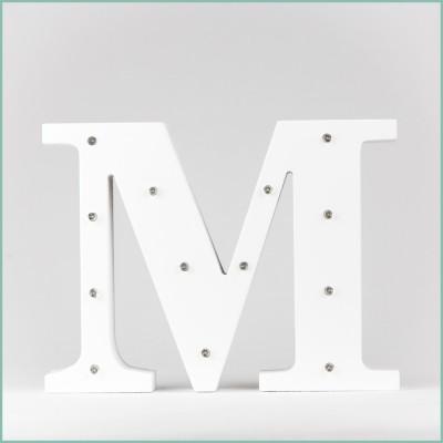 Светящаяся буква M