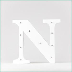 Світлодіодна літера N