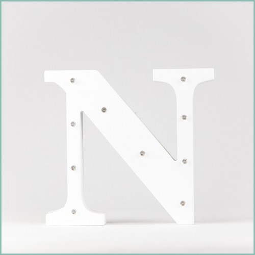 Светящаяся буква N