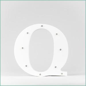 Світлодіодна літера Q