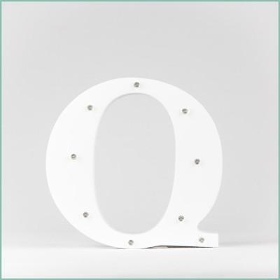 Светящаяся буква Q