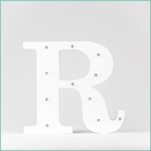 Светящаяся буква R