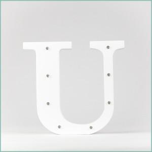 Светящаяся буква U