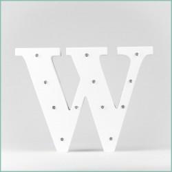 Светящаяся буква W