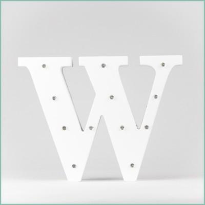 Світлодіодна літера W