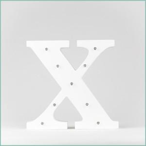 Світлодіодна літера X