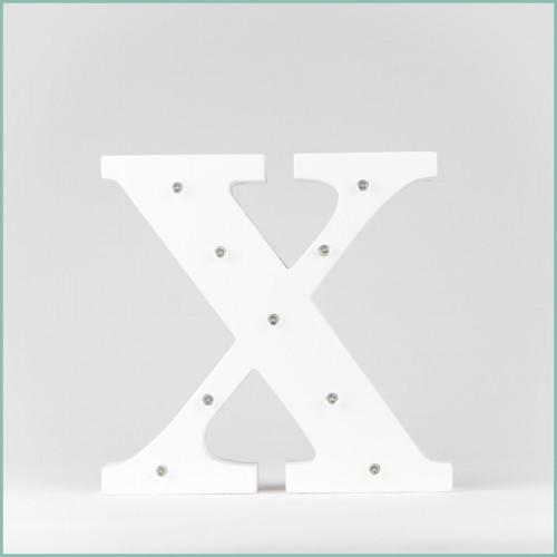 Светящаяся буква X