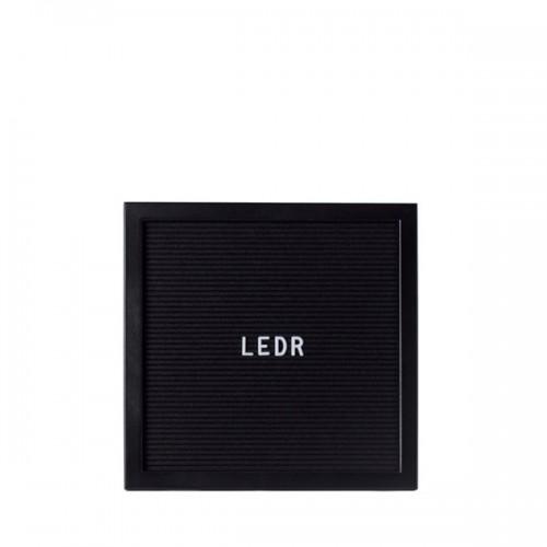Доска для создания надписей letter board ALL Black 30*30