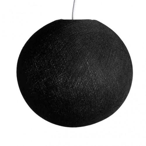 абажур из ниток Black