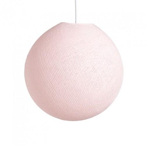 абажур из ниток Light Pink