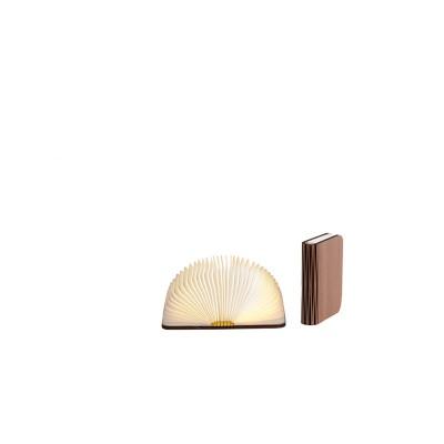 Світильник книга - S walnut brown (горіх коричневий)