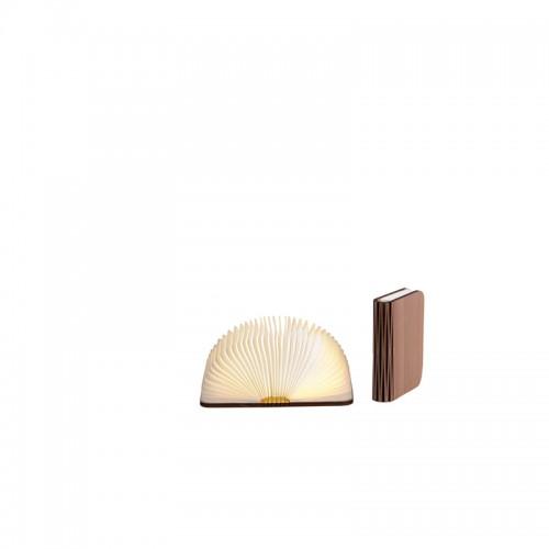 Светильник книга - S walnut brown (орех коричневый)