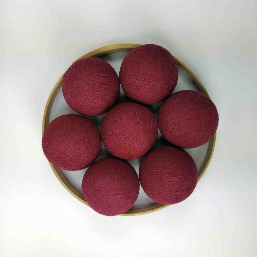 Декоративные шарики из ниток - cyclaam