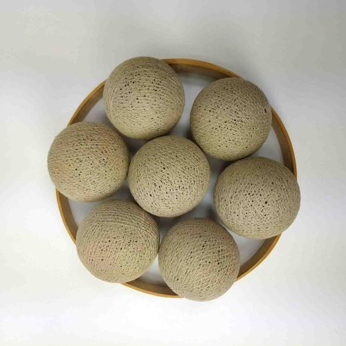 Декоративные шарики из ниток - sand