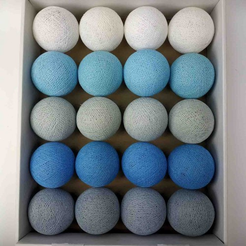 гирлянда шарики из ниток-blue-soft-grey