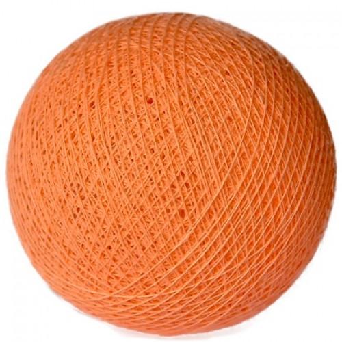 Хлопковый шарик «Dark peach»