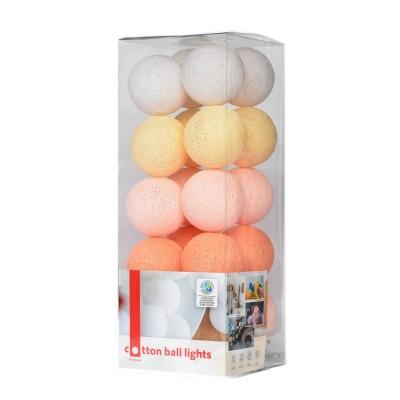 Бавовняні ліхтарики Peach pastel
