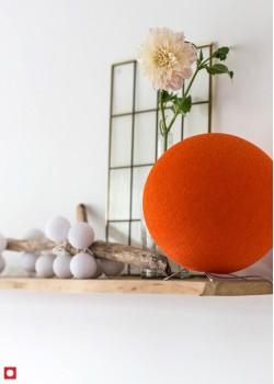Хлопковая лампа Dutch Orange