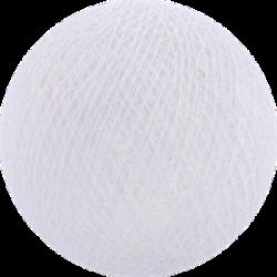 Хлопковый шарик White