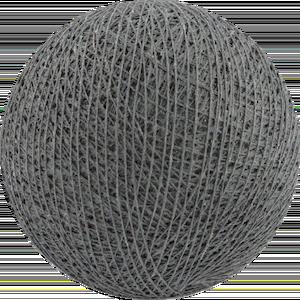 Хлопковый шарик Mid Grey