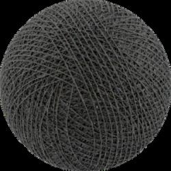 Хлопковый шарик Antracite