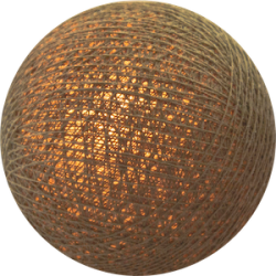 Хлопковый шарик Beige