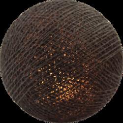 Хлопковый шарик Mid Brown