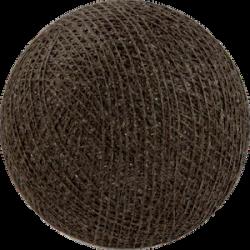 Хлопковый шарик Brown