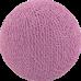 Хлопковый шарик Light Magenta