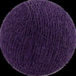 Хлопковый шарик Purple