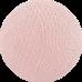 Хлопковый шарик Light Pink