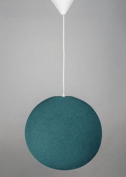 Хлопковая лампа Heavy Aqua