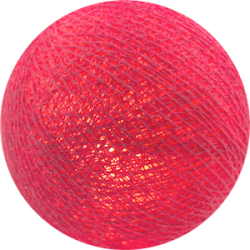 Хлопковый шарик Bright Pink